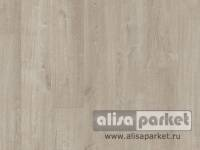 Виниловые полы Quick-Step Pulse Click Cotton Light Grey Oak PUCL40105
