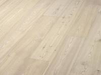 Паркетная доска Timberwise Однополосная Арктик Вайт / Larch brushed Arctic White plank 185