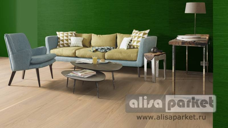 Фото паркетной доски Boen Live Pure Planks 138, 209 mm Oak slightly brushed Andante 209 мм в интерьере