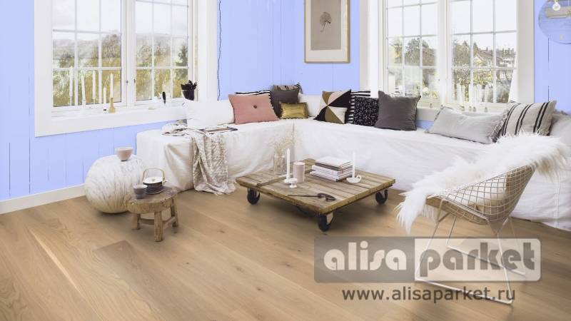 Фото паркетной доски Boen Live Pure Planks 138, 209 mm Oak slightly brushed Animoso 209 мм в интерьере