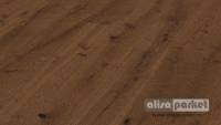 Паркетная доска Meister PD 400 Cottage Dark brown oak canyon brushed naturally oiled 8559