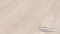 Паркетная доска Meister PD 200 Classic Arctic white rustic oak brushed matt lacquered 8488