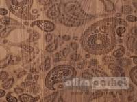 Паркетная доска Mafi Carving Oak Carving Paisley I Brushed White Oiled C005BKW