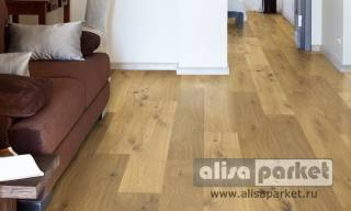 Фото Паркетная доска Corkstyle Wood Plus Wood Wild Oak Knotty в интерьере