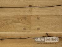 Паркетная доска Tilo Rustic Oak, Valley, Dovetail, structured L1221