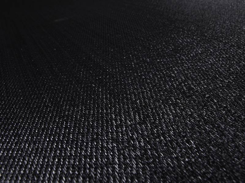 Фото виниловых полов Bolon Bkb плитка Sisal Plain Black в интерьере