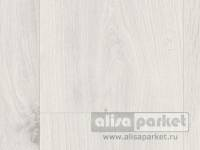 Ламинат Parador Basic Plus 400 M4V Oak crystal white wideplank wood texture 4-sided mini V-joint 1474400