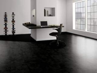 Фото Ламинат Parador TrendTime 4 Painted black 1601144 в интерьере