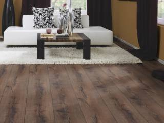 Фото Ламинат Kronoflooring Kronostep Super Natural Wide Body Дуб Монастырский 5165 в интерьере