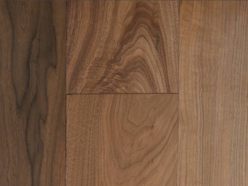 Фото массивной доски Magestik Floor Walnut Collection Орех американский селект 120 мм в интерьере