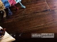 Массивная доска Parketoff Exotic Burma Black Walnut Natural