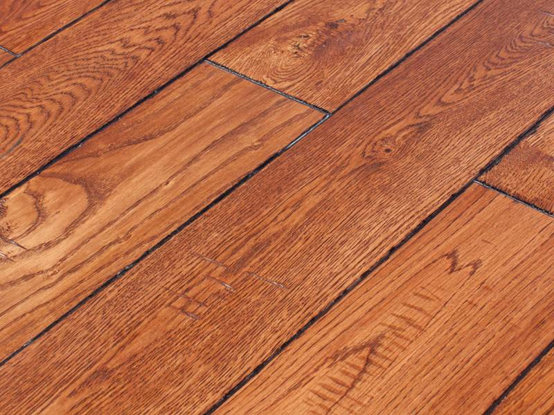 Фото Массивная доска Lewis & Mark American collection American Oak Kentucky light
