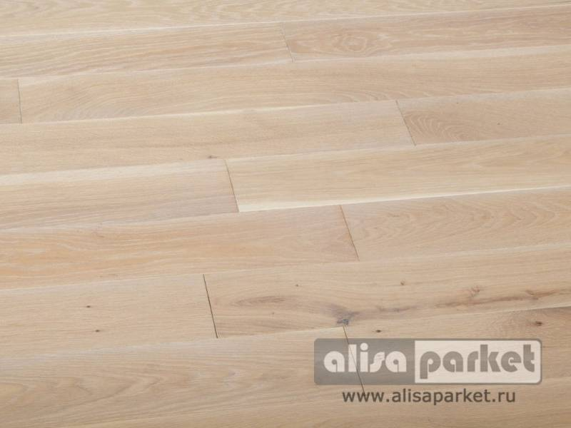 Фото Массивная доска Matraparkett Grandiose Oak White Antique+