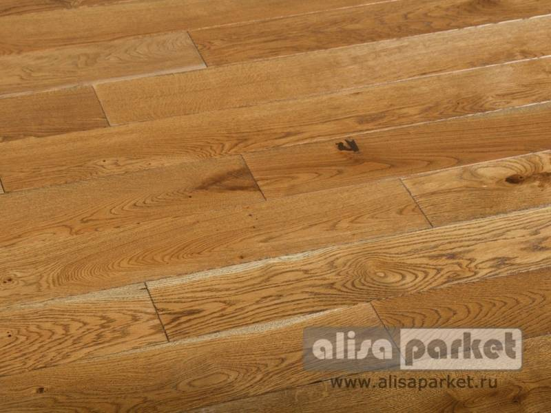 Фото Массивная доска Matraparkett Grandiose Oak Balmoral Antique+
