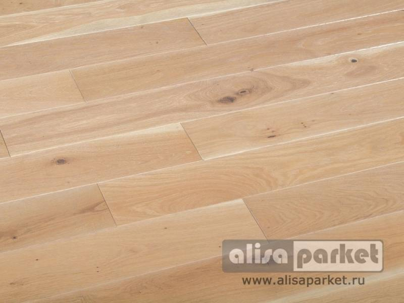 Фото Массивная доска Matraparkett Grandiose Oak Silver Antique+