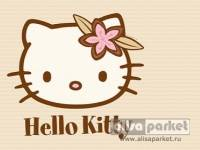 Пробковое покрытие Corkstyle Print Cork Hello Kitty & Snoopy напольная клеевая Хелло Китти сафари