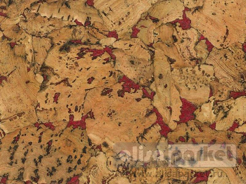 Фото Пробковое покрытие Granorte Decodalle Country Red GN-D2400_E81