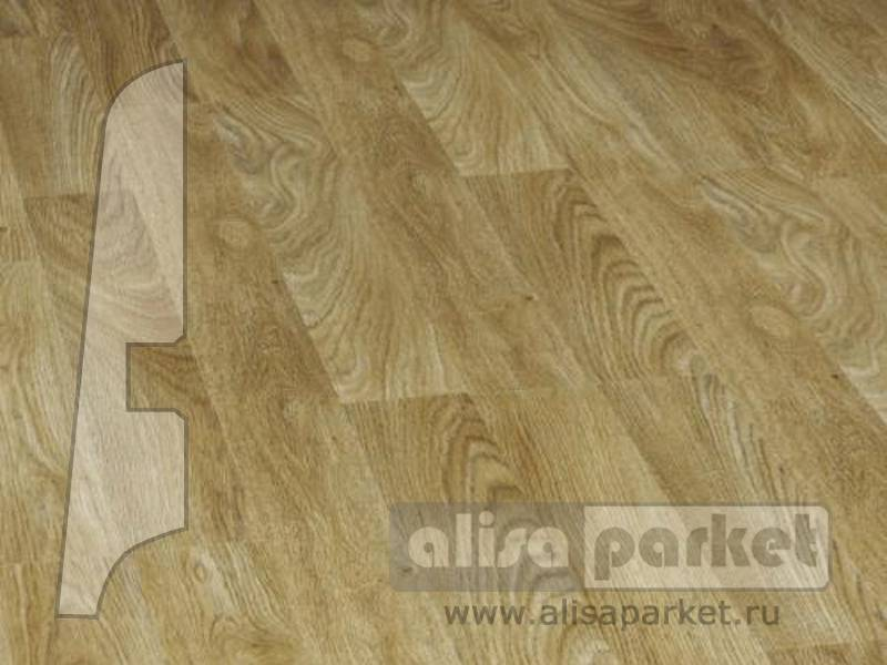 Фото Плинтуса и пороги BerryAlloc Плинтус МДФ 60x14мм Authentic Oak