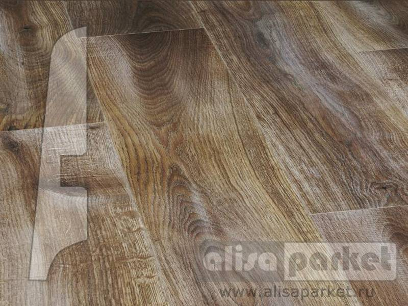 Фото Плинтуса и пороги BerryAlloc Плинтус МДФ 60x14мм Oak Forest Walnut