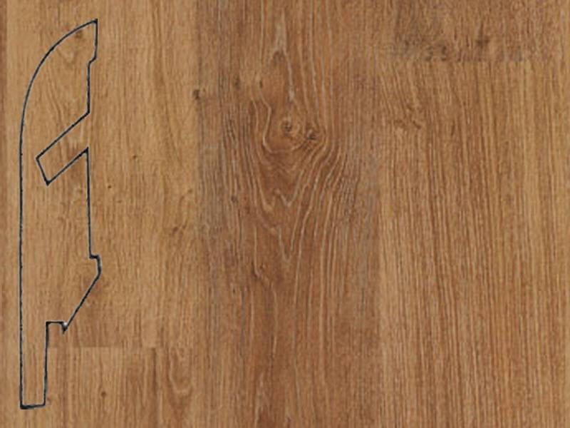 Фото Плинтуса и пороги Quick-Step Плинтус МДФ 58x12мм Natural varnished oak plank