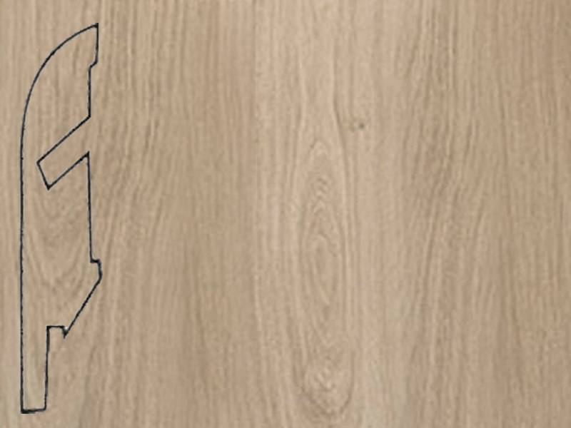 Фото Плинтуса и пороги Quick-Step Плинтус МДФ 58x12мм Ligth Grey Varnished Oak plank
