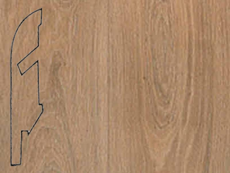 Фото Плинтуса и пороги Quick-Step Плинтус МДФ 58x12мм Natural varnished oak