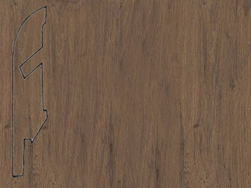Фото Плинтуса и пороги Quick-Step Плинтус МДФ 58x12мм White oak brown